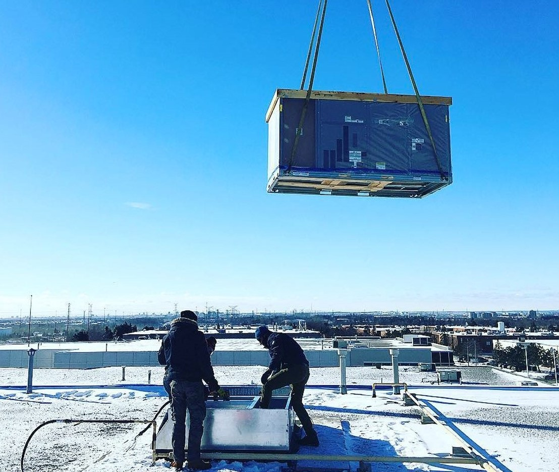 hvac commercial installation