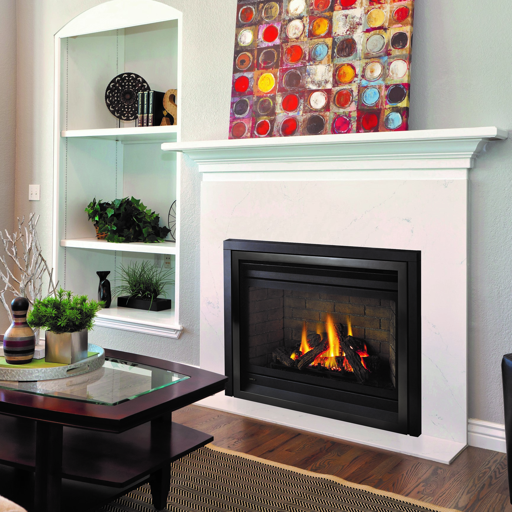 Panorama P36E Gas Fireplace