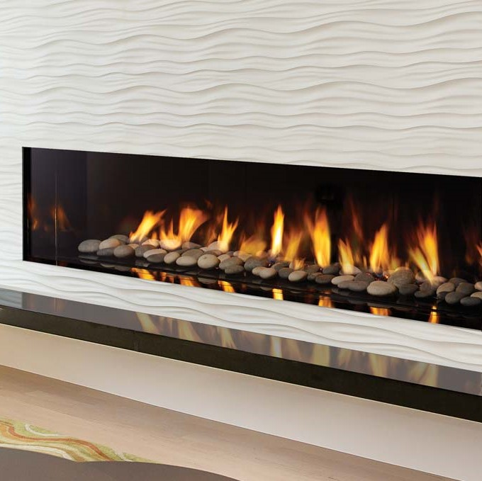 New York View 72 Gas Fireplace