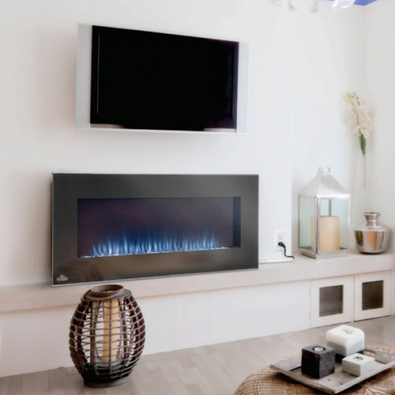Linear Electric Fireplace – AZURE 42