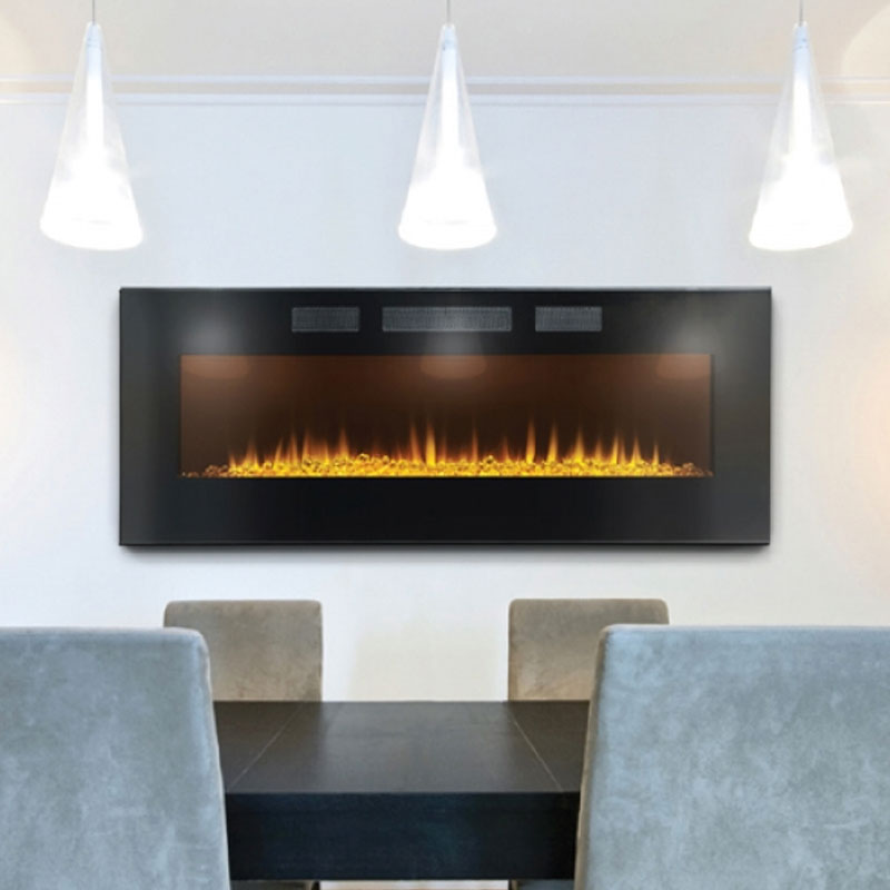 Linear Electric Fireplace – AZURE 50